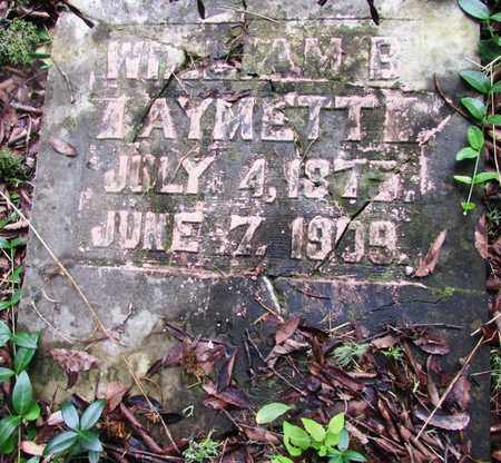 AYMETT, WILLIAM B. - Giles County, Tennessee | WILLIAM B. AYMETT - Tennessee Gravestone Photos