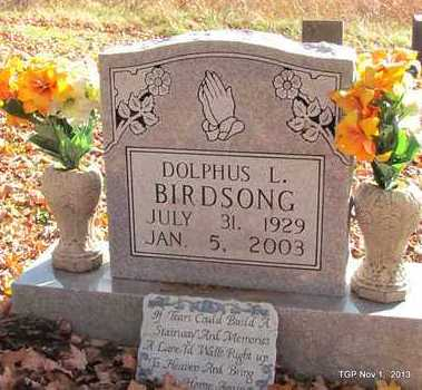 BIRDSONG, DOLPHUS L. - Giles County, Tennessee | DOLPHUS L. BIRDSONG - Tennessee Gravestone Photos