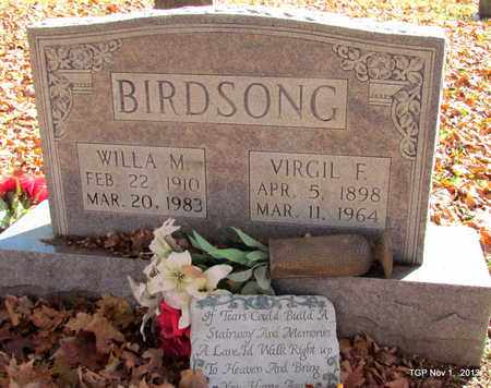 BIRDSONG, VIRGIL FREEMAN - Giles County, Tennessee | VIRGIL FREEMAN BIRDSONG - Tennessee Gravestone Photos