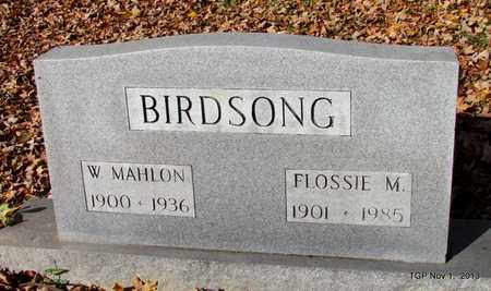 MCKNIGHT BIRDSONG, FLOSSIE L - Giles County, Tennessee | FLOSSIE L MCKNIGHT BIRDSONG - Tennessee Gravestone Photos