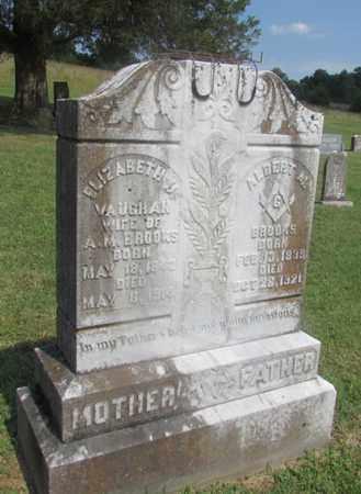 BROOKS, ALBERT M. - Giles County, Tennessee | ALBERT M. BROOKS - Tennessee Gravestone Photos