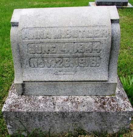 BUTLER, ANNA M. - Giles County, Tennessee | ANNA M. BUTLER - Tennessee Gravestone Photos