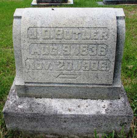 BUTLER, J. D. - Giles County, Tennessee | J. D. BUTLER - Tennessee Gravestone Photos