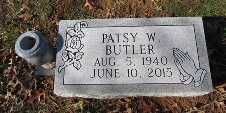 BUTLER, PATSY W. - Giles County, Tennessee | PATSY W. BUTLER - Tennessee Gravestone Photos
