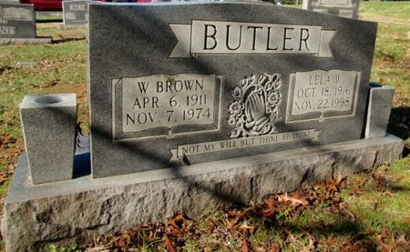 BUTLER, W. BROWN - Giles County, Tennessee | W. BROWN BUTLER - Tennessee Gravestone Photos