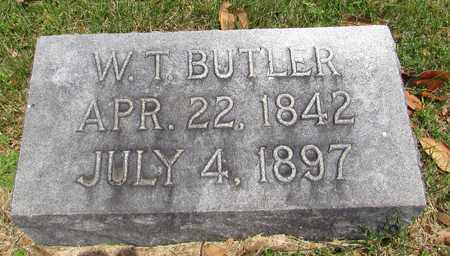 BUTLER, WILLIAM T. - Giles County, Tennessee | WILLIAM T. BUTLER - Tennessee Gravestone Photos