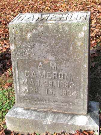 CAMERON, A. M. - Giles County, Tennessee | A. M. CAMERON - Tennessee Gravestone Photos
