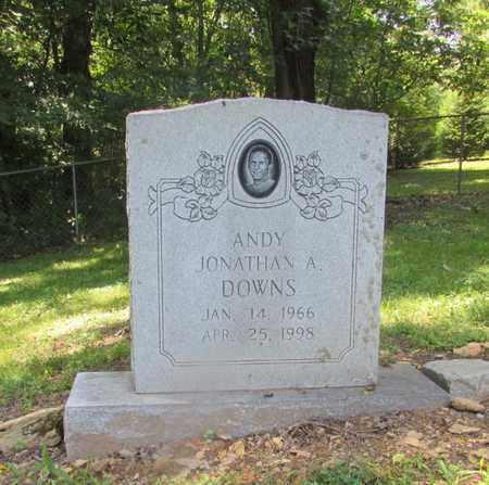 """DOWNS, JONATHAN A. """"ANDY"""" - Giles County, Tennessee 