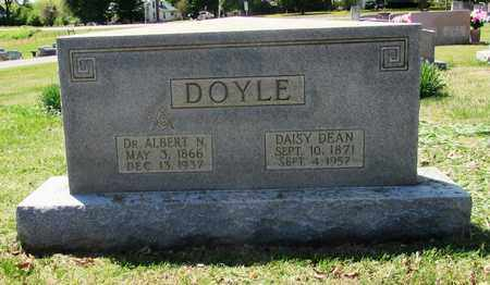 DOYLE, DR. ALBERT N. - Giles County, Tennessee | DR. ALBERT N. DOYLE - Tennessee Gravestone Photos