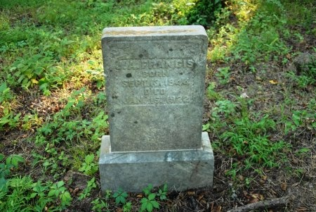 FRANCIS, JAMES ALEXANDER - Giles County, Tennessee | JAMES ALEXANDER FRANCIS - Tennessee Gravestone Photos