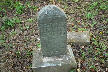 FRANCIS, R. C. - Giles County, Tennessee | R. C. FRANCIS - Tennessee Gravestone Photos