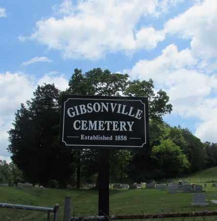 GIBSONVILLE, CEMETERY SIGN - Giles County, Tennessee   CEMETERY SIGN GIBSONVILLE - Tennessee Gravestone Photos