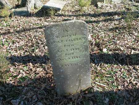 GILBERT, EUNICE - Giles County, Tennessee   EUNICE GILBERT - Tennessee Gravestone Photos