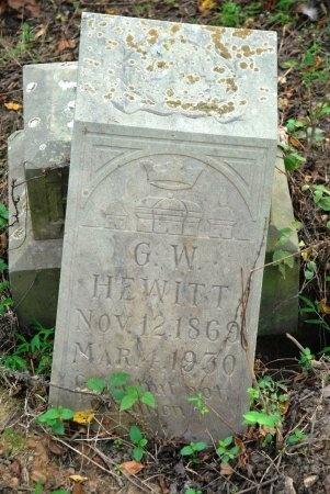 HEWITT, G. W. - Giles County, Tennessee | G. W. HEWITT - Tennessee Gravestone Photos