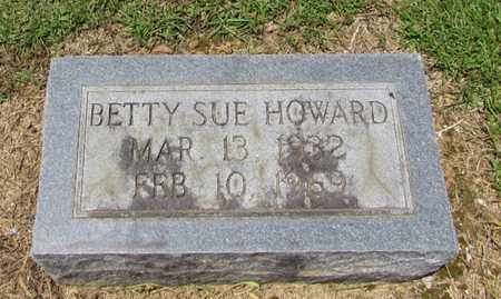 HOWARD, BETTY SUE - Giles County, Tennessee | BETTY SUE HOWARD - Tennessee Gravestone Photos