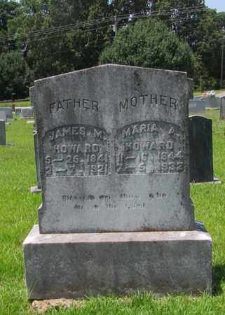 HOWARD, JAMES M. - Giles County, Tennessee | JAMES M. HOWARD - Tennessee Gravestone Photos