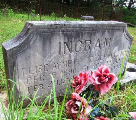 AYMETT INGRAM, ELISE - Giles County, Tennessee   ELISE AYMETT INGRAM - Tennessee Gravestone Photos