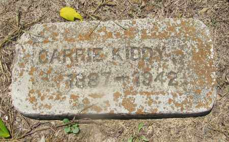 KIDDY, CARRIE - Giles County, Tennessee | CARRIE KIDDY - Tennessee Gravestone Photos