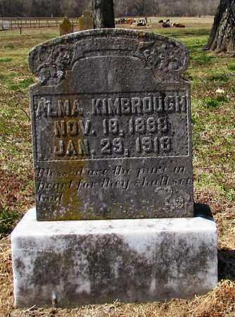 KIMBROUGH, ALMA - Giles County, Tennessee | ALMA KIMBROUGH - Tennessee Gravestone Photos