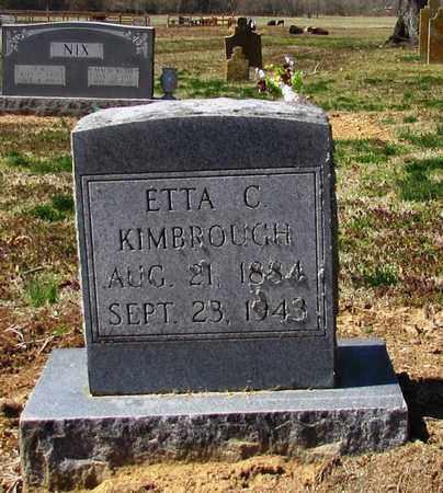 KIMBROUGH, ETTA C. - Giles County, Tennessee   ETTA C. KIMBROUGH - Tennessee Gravestone Photos