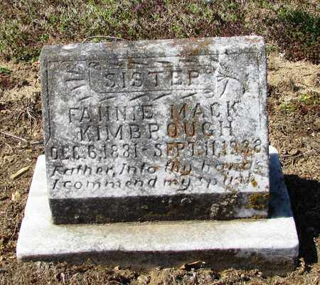 KIMBROUGH, FANNIE - Giles County, Tennessee | FANNIE KIMBROUGH - Tennessee Gravestone Photos