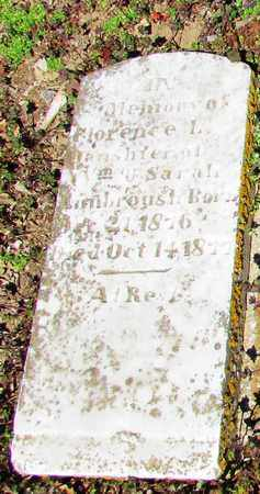 KIMBROUGH, FLORENCE L. - Giles County, Tennessee | FLORENCE L. KIMBROUGH - Tennessee Gravestone Photos