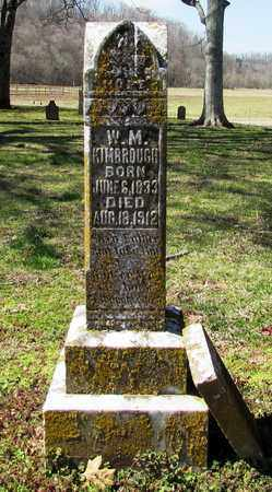 KIMBROUGH, W. M. - Giles County, Tennessee | W. M. KIMBROUGH - Tennessee Gravestone Photos