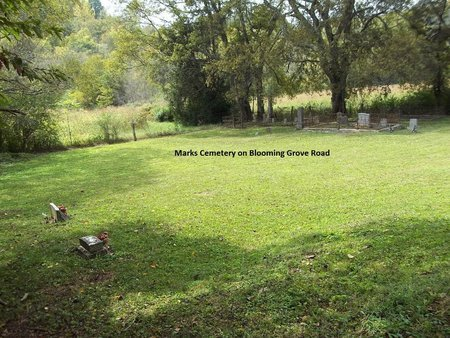 *MARKS CEMETERY OVERVIEW,  - Giles County, Tennessee |  *MARKS CEMETERY OVERVIEW - Tennessee Gravestone Photos