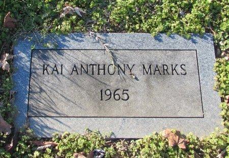 MARKS, KAI ANTHONY - Giles County, Tennessee   KAI ANTHONY MARKS - Tennessee Gravestone Photos
