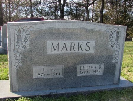 MARKS, L. M. - Giles County, Tennessee | L. M. MARKS - Tennessee Gravestone Photos