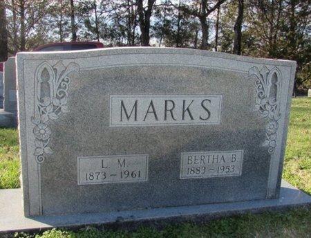 MARKS, BERTHA B. - Giles County, Tennessee | BERTHA B. MARKS - Tennessee Gravestone Photos