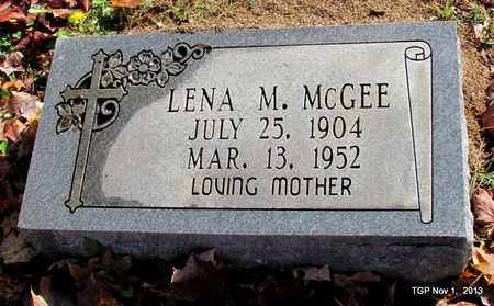 MCGEE, LENA M. - Giles County, Tennessee | LENA M. MCGEE - Tennessee Gravestone Photos