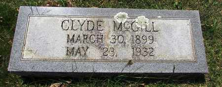 MCGILL, CLYDE - Giles County, Tennessee | CLYDE MCGILL - Tennessee Gravestone Photos