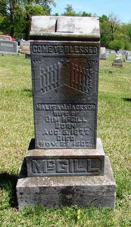 MCGILL, MALISA J - Giles County, Tennessee | MALISA J MCGILL - Tennessee Gravestone Photos