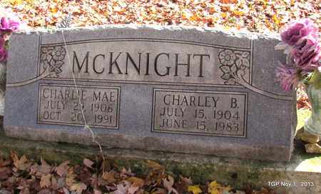 MCKNIGHT, CHARLIE MAE - Giles County, Tennessee | CHARLIE MAE MCKNIGHT - Tennessee Gravestone Photos