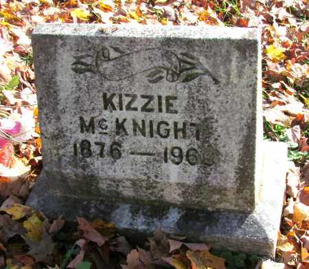 MCKNIGHT, KIZZIE - Giles County, Tennessee | KIZZIE MCKNIGHT - Tennessee Gravestone Photos