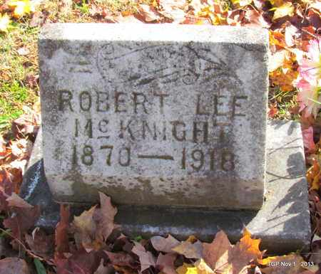 MCKNIGHT, ROBERT LEE - Giles County, Tennessee   ROBERT LEE MCKNIGHT - Tennessee Gravestone Photos