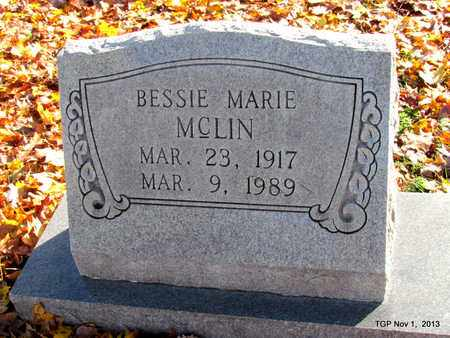 MCLIN, BESSIE MARIE - Giles County, Tennessee   BESSIE MARIE MCLIN - Tennessee Gravestone Photos
