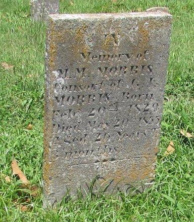 MORRIS, M. M. - Giles County, Tennessee | M. M. MORRIS - Tennessee Gravestone Photos