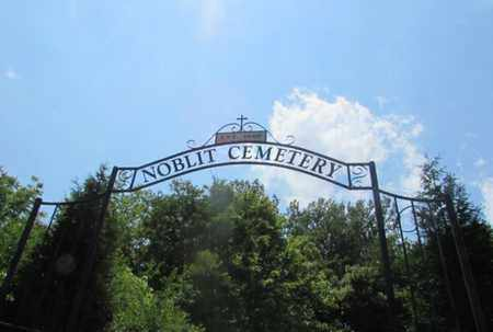 *NOBLIT CEMETERY SIGN,  - Giles County, Tennessee |  *NOBLIT CEMETERY SIGN - Tennessee Gravestone Photos