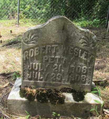 PETTY, ROBERT WESLEY - Giles County, Tennessee | ROBERT WESLEY PETTY - Tennessee Gravestone Photos