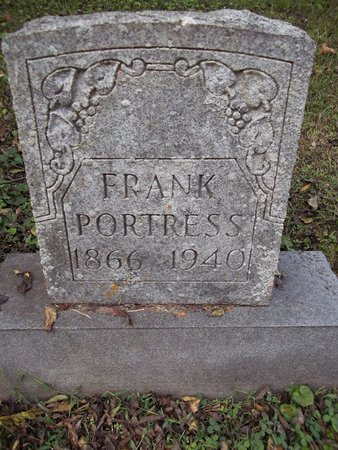 PORTRESS, FRANK - Giles County, Tennessee | FRANK PORTRESS - Tennessee Gravestone Photos