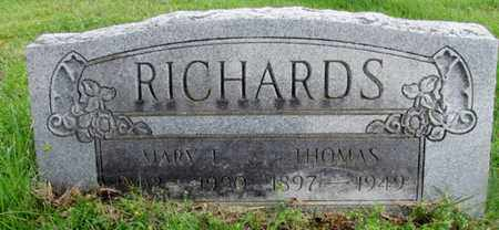RICHARDS, MARY L. - Giles County, Tennessee | MARY L. RICHARDS - Tennessee Gravestone Photos