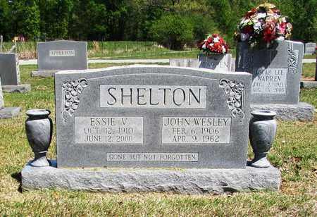 SHELTON, ESSIE V. - Giles County, Tennessee | ESSIE V. SHELTON - Tennessee Gravestone Photos