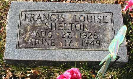 SHELTON, FRANCIS LOUISE - Giles County, Tennessee | FRANCIS LOUISE SHELTON - Tennessee Gravestone Photos