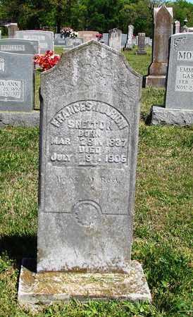 SHELTON, FRANCES - Giles County, Tennessee   FRANCES SHELTON - Tennessee Gravestone Photos