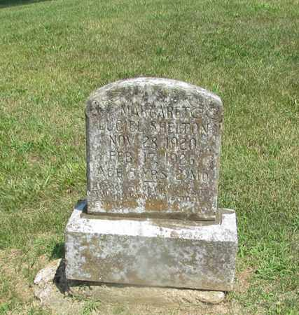 SHELTON, MARGARET LUCIEL - Giles County, Tennessee | MARGARET LUCIEL SHELTON - Tennessee Gravestone Photos