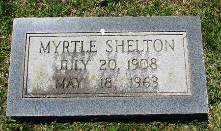SHELTON, MYRTLE - Giles County, Tennessee | MYRTLE SHELTON - Tennessee Gravestone Photos