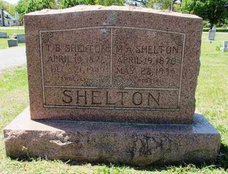 SHELTON, M. A. - Giles County, Tennessee | M. A. SHELTON - Tennessee Gravestone Photos