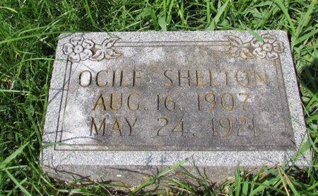 SHELTON, OCILE - Giles County, Tennessee | OCILE SHELTON - Tennessee Gravestone Photos